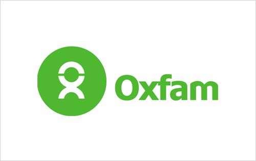 Oxfam logo - humanitarian NGO